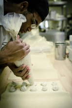 Some of our chunkier ravioli are hand made.