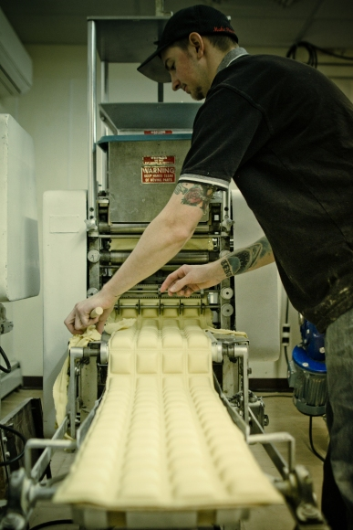 We've used the same ravioli machine since the beginning!