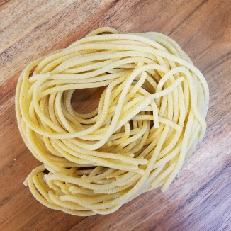 Fresh Thick Cut Spaghetti
